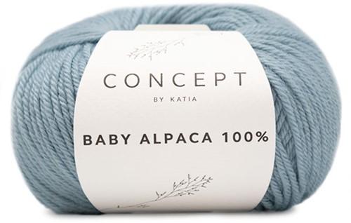Katia Baby Alpaca 100% 511 Sky blue