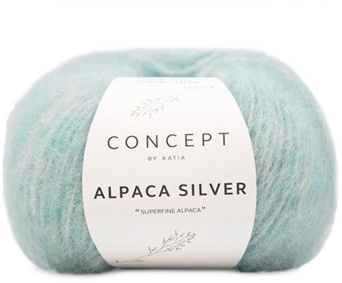 Katia Alpaca Silver 264 Pastel green silver