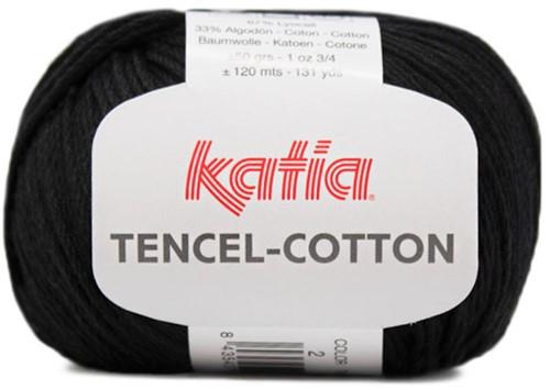 Katia Tencel-Cotton 002 Black