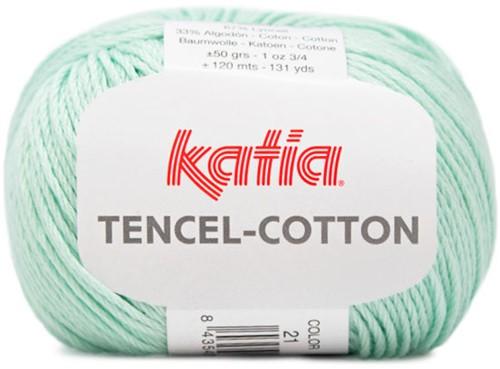 Katia Tencel-Cotton 021 Water blue