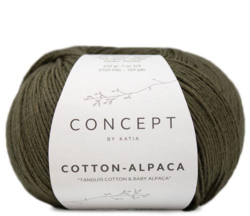 Katia Cotton Alpaca 101 Khaki