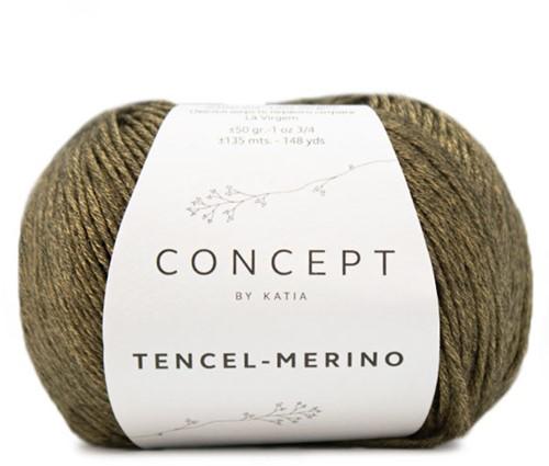 Katia Tencel-Merino 100 Yellow black
