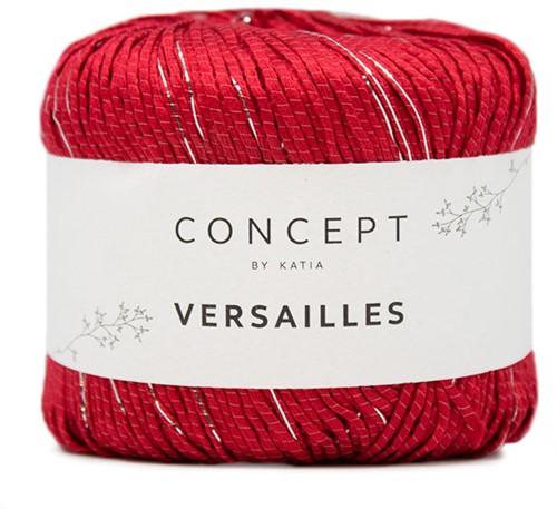 Katia Versailles 87 Red-Silver