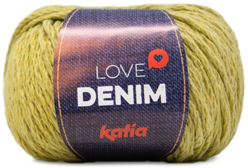Katia Love Denim 108 Yellow