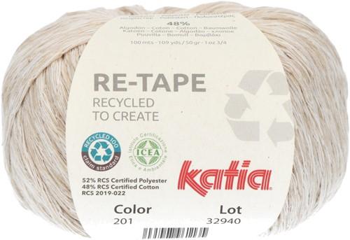 Katia Re-Tape 201 Beige