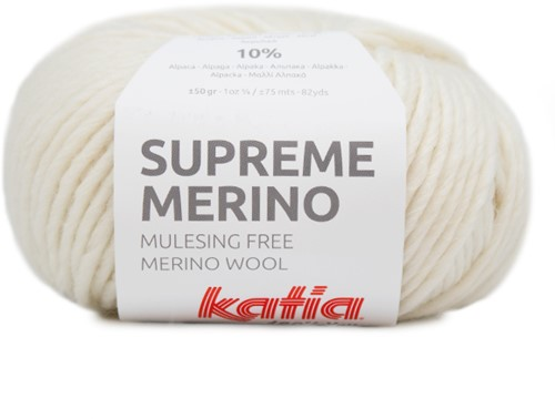 Katia Supreme Merino 080 Off-white