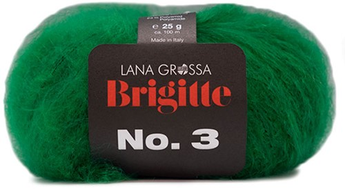 Lana Grossa Brigitte No.3 15 Green