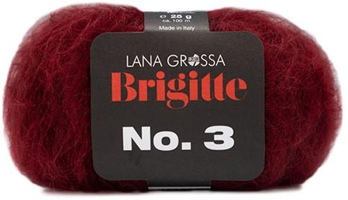Lana Grossa Brigitte No.3 24 Wine Red