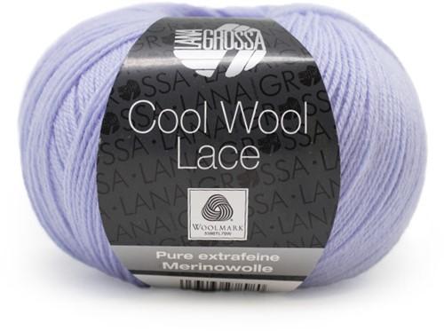 Lana Grossa Cool Wool Lace 001 Light Blue