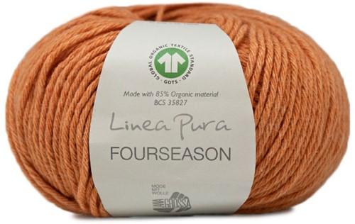 Lana Grossa Fourseason 021 Brown-Orange