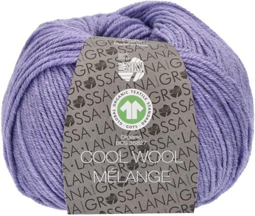 Lana Grossa Cool Wool Mélange (GOTS) 101 Lilac mottled