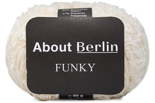 Lana Grossa About Berlin Funky 002 Cream