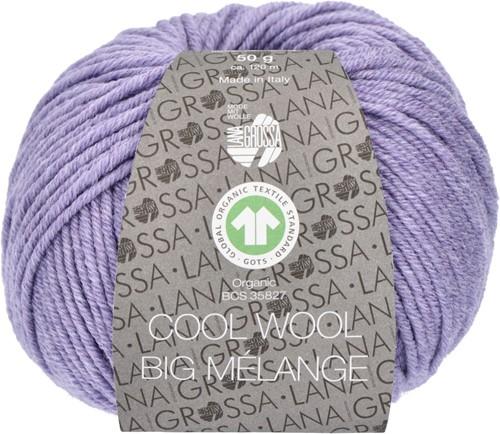 Lana Grossa Cool Wool Big Mélange (GOTS) 201 Lilac mottled