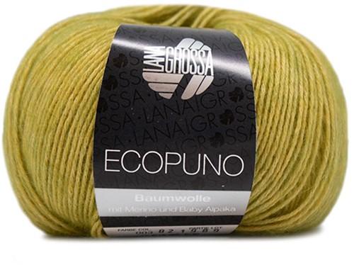 Lana Grossa Ecopuno 003 Yellow-Green