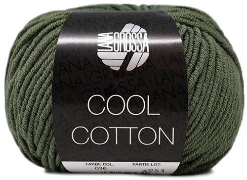 Lana Grossa Cool Cotton 36 Oleander Green