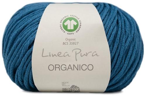 Lana Grossa Organico Uni 132 Ocean Blue