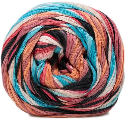 Lana Grossa Gomitolo Doppio 255 Soft Rose / Salmon / Pink / Antique Violett / Night Blue / Turquoise / Dark Jeans