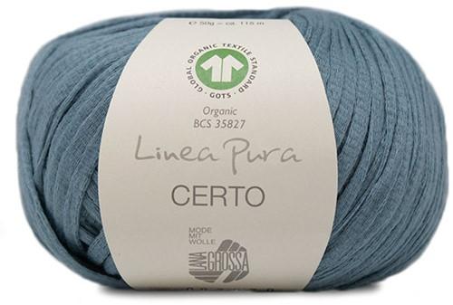 Lana Grossa Certo 008 Grey-Blue