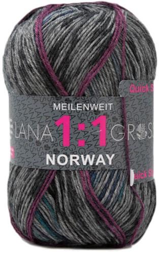 Lana Grossa Meilenweit 100 Norway 1:1 306