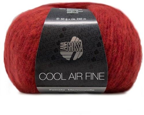 Lana Grossa Cool Air Fine 8 Red