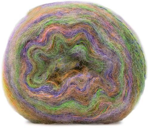 Lana Grossa Tutti 1 Orange / Sering / Yellow-Green / Rose / Violet