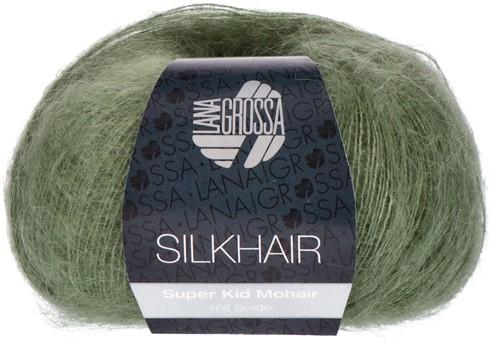 Lana Grossa Silkhair 127 Moss Green