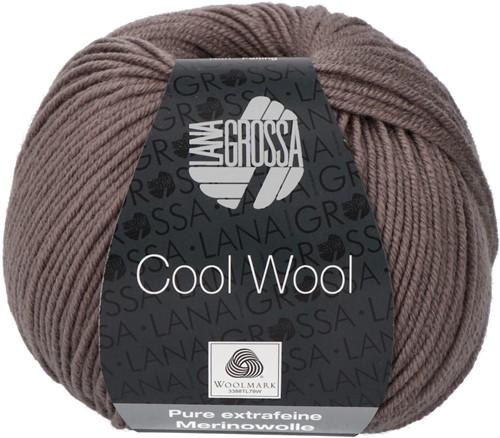 Lana Grossa Cool Wool 558 Gray Brown