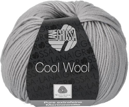 Lana Grossa Cool Wool 589 Stone Gray