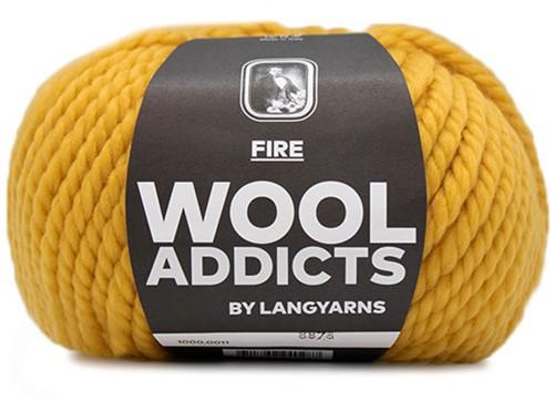 Lang Yarns Wooladdicts Fire 011 Mustard Yellow