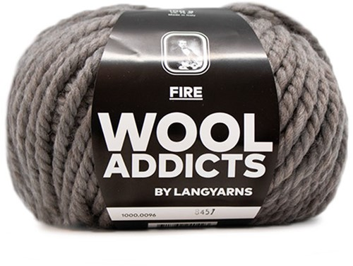 Lang Yarns Wooladdicts Fire 096 Stone