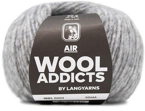 Lang Yarns Wooladdicts Air 003 Light Grey Mélange