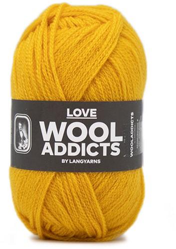 Lang Yarns Wooladdicts Love 011 Mustard Yellow