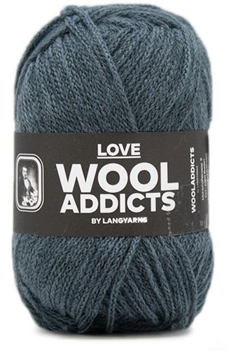 Lang Yarns Wooladdicts Love 074 Atlantic