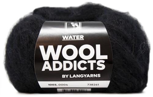 Lang Yarns Wooladdicts Water 004 Black