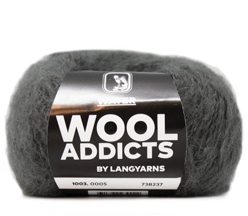 Lang Yarns Wooladdicts Water 005 Grey Mélange