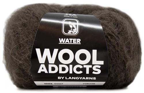 Lang Yarns Wooladdicts Water 067 Dark Brown