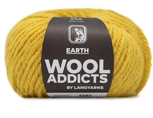 Lang Yarns Wooladdicts Earth 011 Yellow