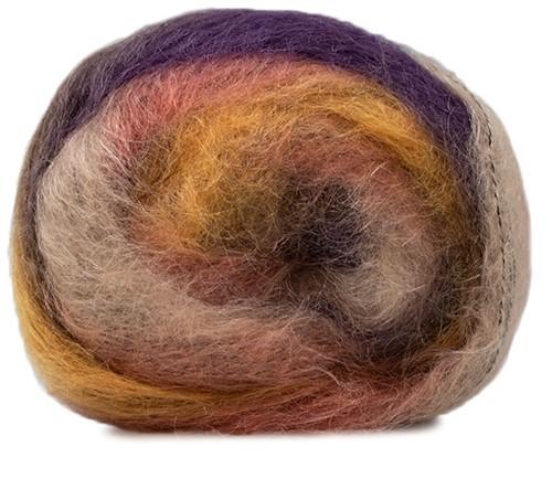 Lang Yarns Victoria 056 Mustard / Lilac