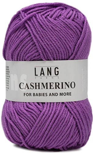 Lang Yarns Cashmerino For Babies and More 045 Lilac