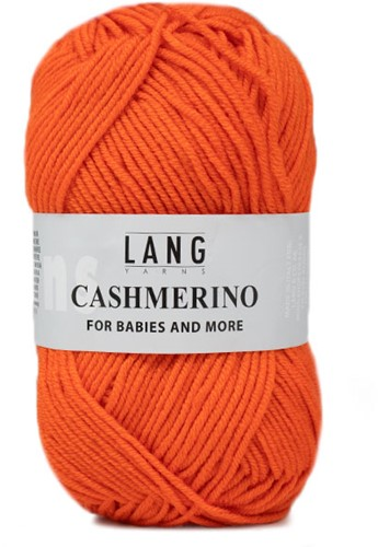 Lang Yarns Cashmerino For Babies and More 059 Orange