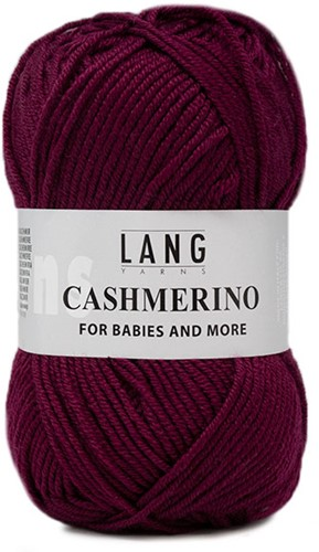 Lang Yarns Cashmerino For Babies and More 066 Fuchsia