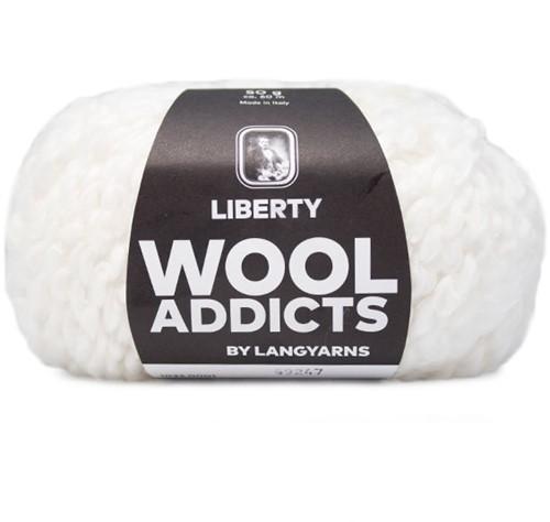 Lang Yarns Wooladdicts Liberty 001 White