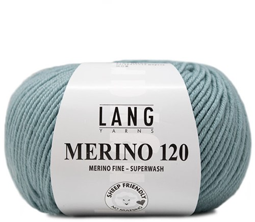 Lang Yarns Merino 120 174 Dark Mint