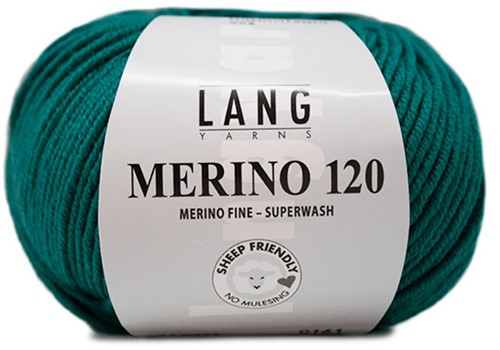 Lang Yarns Merino 120 272 Dark Turquoise