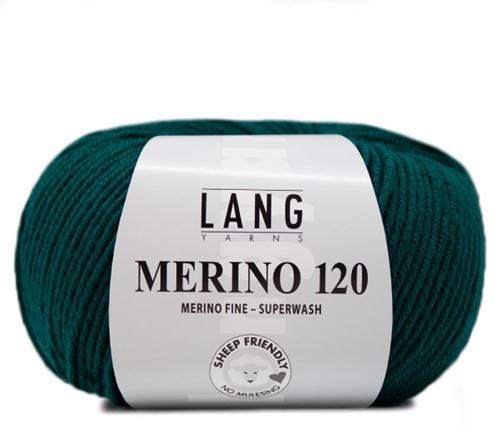 Lang Yarns Merino 120 288 Petrol