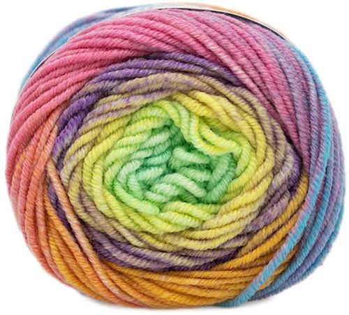 Lang Yarns Merino 120 Dégradé 001 Multicolour/Pastel