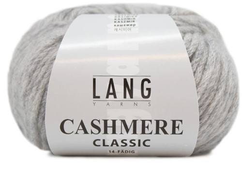 Lang Yarns Cashmere Classic 003 Light gray mélange