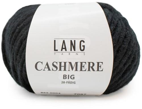 Lang Yarns Cashmere Big 004 Black