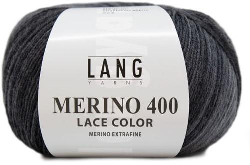 Lang Yarns Merino 400 Lace Color 005 Gray