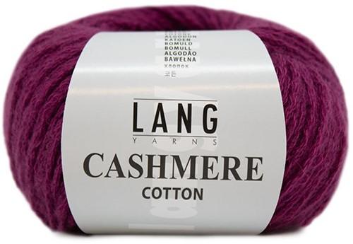 Lang Yarns Cashmere Cotton 066 Fuchsia